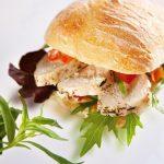 Petit sandwich au Poulet et Estragon